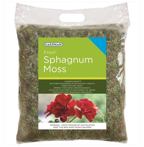 Sphagnum Moss for Wire Hanging Baskets from Gardman Std Pack