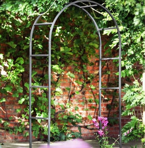 Classic Metal Garden Arch by Tom Chambers