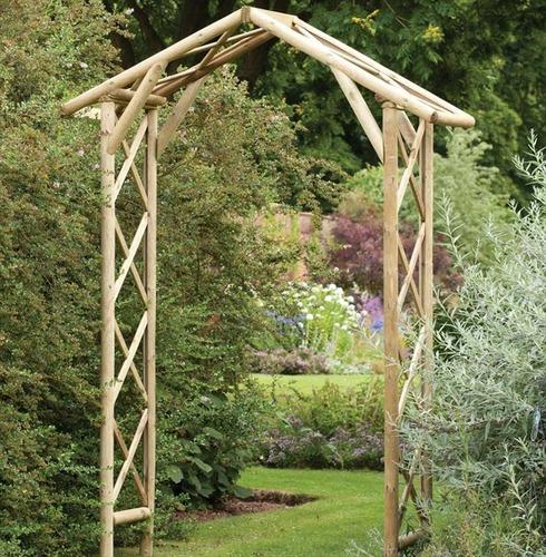 Honeysuckle Garden Arch by Forest Garden