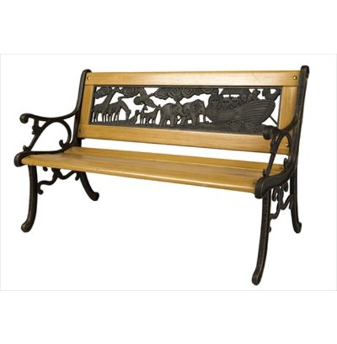 Noah S Ark Bench Childrens Garden Furniture