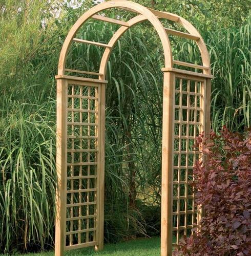 Florence Wooden Garden Arch by Forest Garden