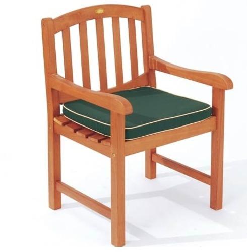 Garden Large Armchair Cushion - Green