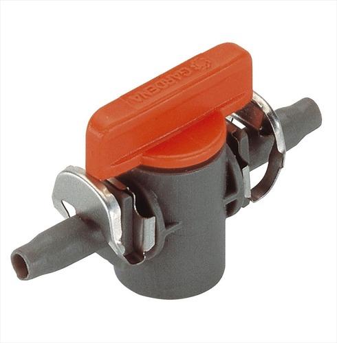 Shut Off Valve (pack 2) - Gardena 4.6mm Micro Irrigation Fitting