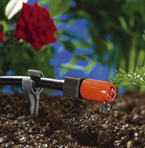Adjustable End Line Drip Head (pack 10) - Gardena 4.6mm Micro Irrigation Fitting