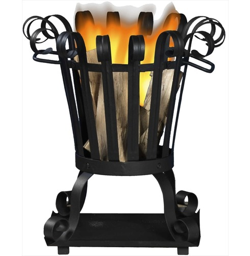 Toronto Small Cone Fire Basket - Brazier
