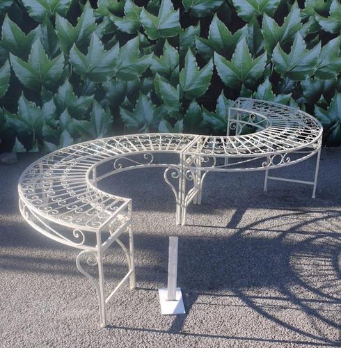 S Shape Garden Bench Seat