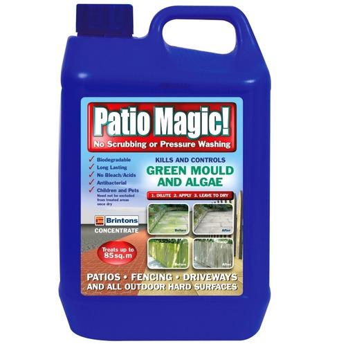 Brintons Patio Magic - 2.5L Kills and Controls