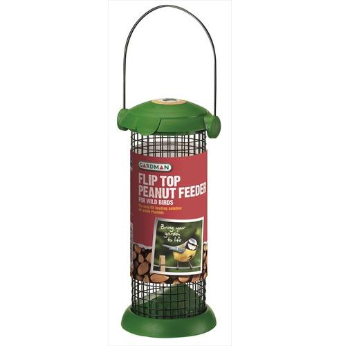 Flip Top Peanut Feeder for Wild Birds