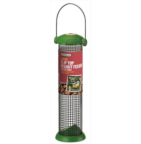 Flip Top Peanut Bird Feeder - Large