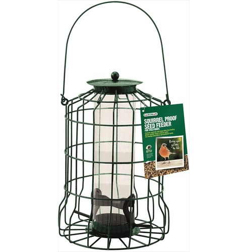 Squirrel Proof Peanut Feeder by Gardman, with two feed ports