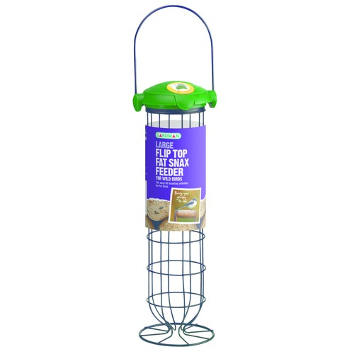 Fat Snax Flip Top Wild Bird Feeder - Large