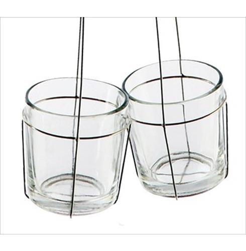 Clutch Tea Light candle Holder - Double 45cm D/L