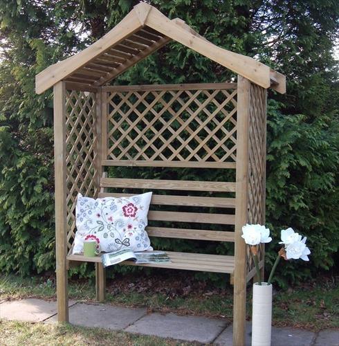 Parisienne Garden Arbour Seat by Forest Garden