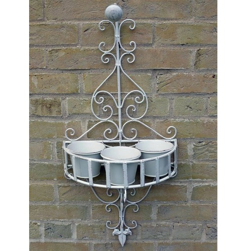 Ornate Wall Pot Holder