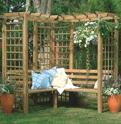 Sorrento Arbour by Forest Garden
