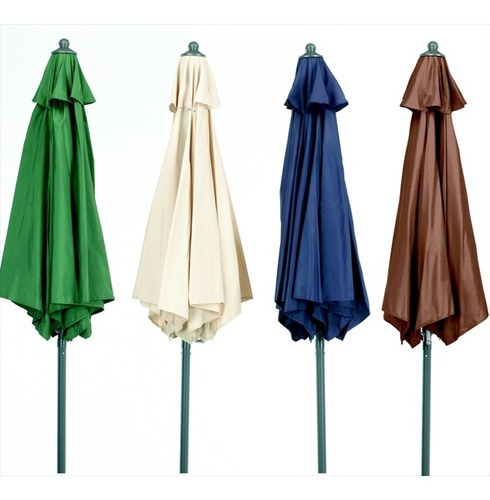 Parasols - Aluminium, Tilting, Wind up - Selection of Colours/Sizes