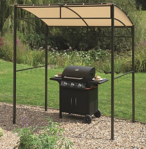 BBQ Barbecue Gazebo Width 216cm x Depth 130cm x Height 220cm