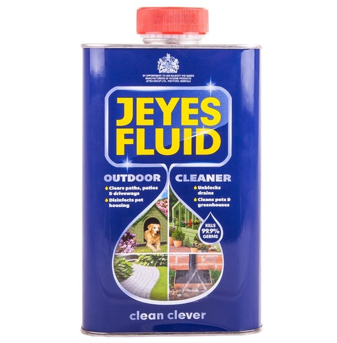Jeyes Fluid 1L - Cleaner Cleans Pot & Greenhouses, Clears Paths & Driveways