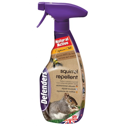 Squirrel Repellent - Natural Active 750ml Spray