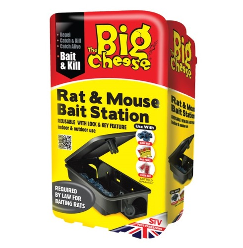 Rat & Mouse Killer - Bait Station - with Lock & Key