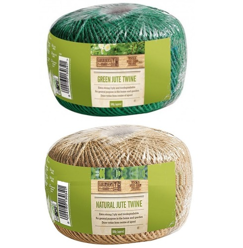 Gardeners Twine - Green or Natural Colours