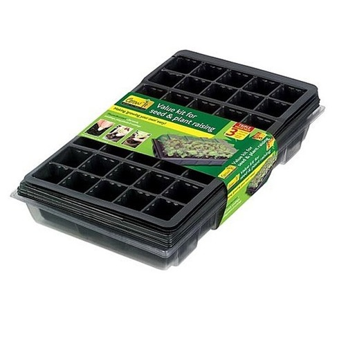 Value Seed & Plant Raising Propagator Kit - Gardman Grow It