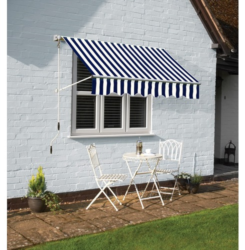 Deluxe Easy Ascot Wall Awning Width 2.5m or 3m or 3.5m