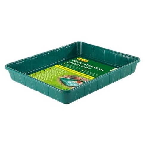 Seed Tray - 42cm Premium Gravel Tray Green - Gardman