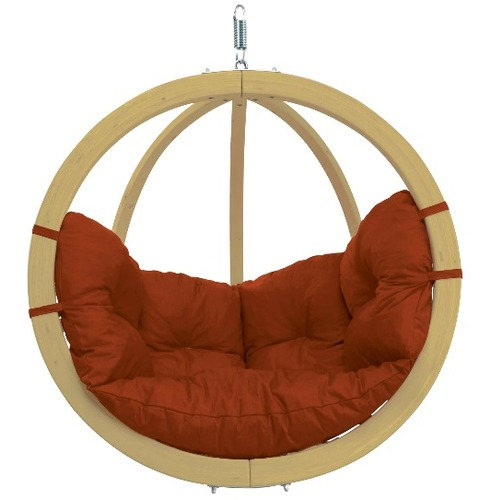 Globo Single Pod Chair Only - Terracotta - Amazonas Hammock
