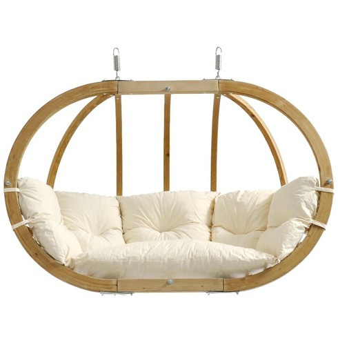 Globo Royal Pod Chair Swing Seat Only - Natural - Amazonas Hammock