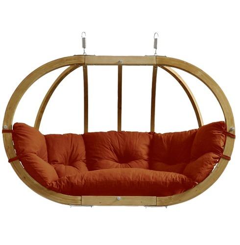 Globo Royal Pod Chair Swing Seat Only - Terracotta - Amazonas Hammock