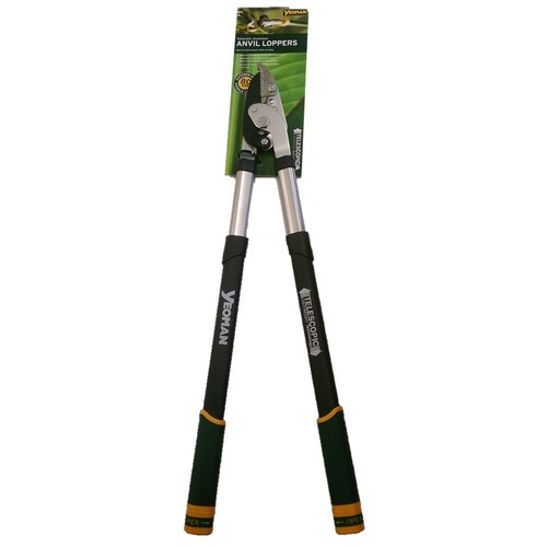Telescopic Aluminium Anvil Lopper - Yeoman Garden Loppers
