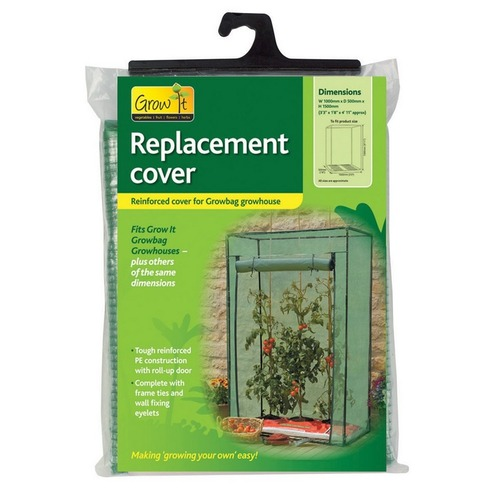 Replacement Grow Bag Growhouse Greenhouse Cover - Reinforced