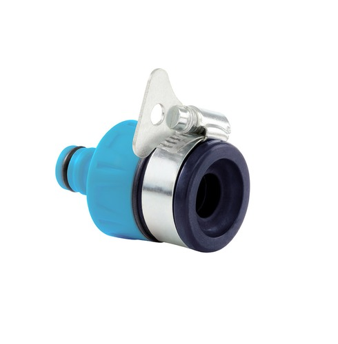 Flopro Round Tap Connector - Max 24mm - Stainless Steel Clip