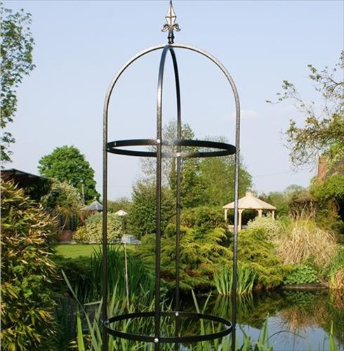 Tower Traditional 7Ft Obelisk - Plant Support - Poppy Forge
