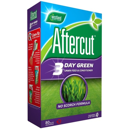Westland Aftercut Lawn Grass Food Feed and Conditioner - 2.8kg - 80m2