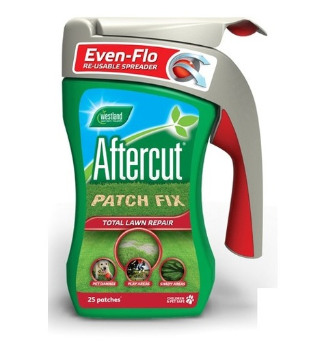 Westland Aftercut Patch Fix Lawn Grass Seed Repairer with Re-Usable Spreader