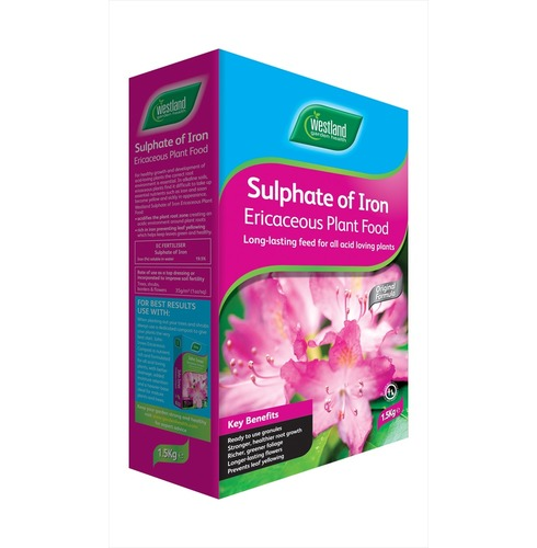 Sulphate of Iron Soil Conditioner & Feed 1.5kg - Westlands Garden Health