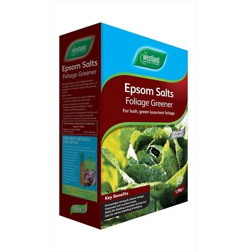 Epsom Salts Foliage Greener 1.5kg - Westlands Garden Health
