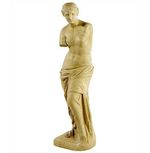 Stone Venus De Milo Statue - Cotswold Stone Finish - Melmar Stone