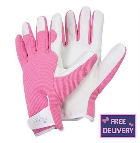Lady Gardener Gardening Gloves - Medium - Pink - Brier
