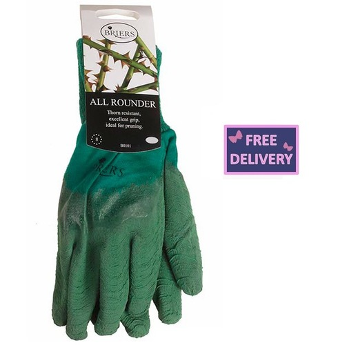 All Rounder Gardening Gloves - Small - Green - Briers