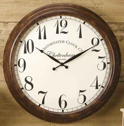 Large Cheltenham Outside Wall Clock 23""