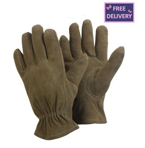 Washable Leather Gardeners Gardening Gloves - Large, Medium or Small