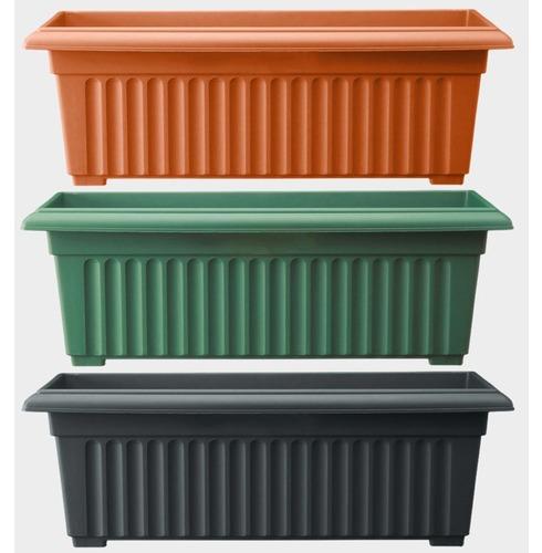 Corinthian Trough Planter 70cm - Different Colour Options