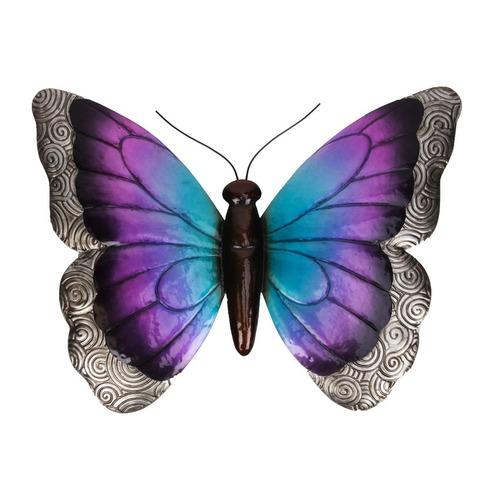 Large Metal Butterfly Wall Art