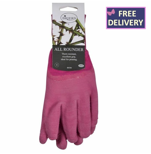 All Rounder Gardening Gloves - Pink - Medium