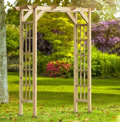 Wooden Barleywood Arch - Kelkay