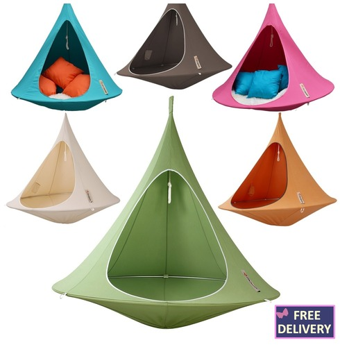Cacoon Double Adult Hanging Tent Chair - Colour Options