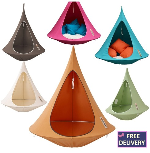 Cacoon Single Adult Hanging Tent Chair - Colour Options